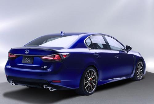 Lexus GS F 2016 lộ diện, công suất 467 mã lực - 4