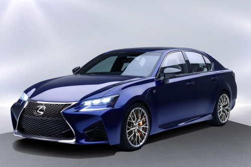 Lexus GS F 2016 lộ diện, công suất 467 mã lực - 6