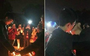 Dân mạng tranh cãi màn cầu hôn của 2 nam sinh đồng tính