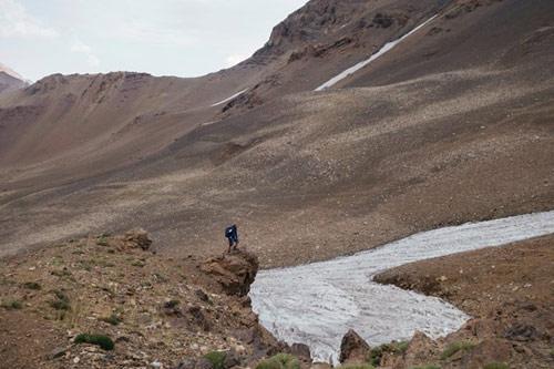 Kỳ thú dòng sông băng ở Iran - 7
