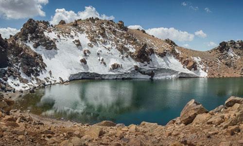 Kỳ thú dòng sông băng ở Iran - 12