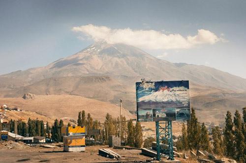Kỳ thú dòng sông băng ở Iran - 1