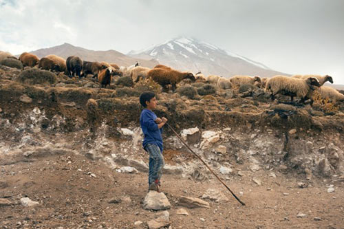 Kỳ thú dòng sông băng ở Iran - 2