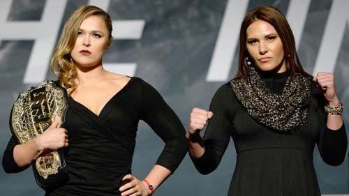 UFC: Người đẹp Rousey tiết lộ đối thủ đáng ngại nhất - 1