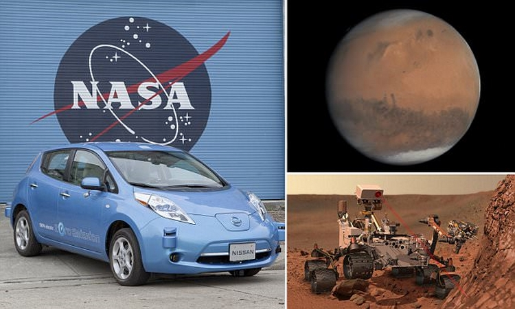 Sắp có ôtô tự hành chở người chạy trên sao Hỏa - 1
