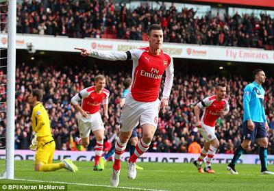 TRỰC TIẾP Arsenal - Stoke: Pháo thủ thăng hoa (KT) - 4