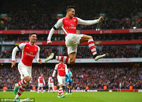 Arsenal - Stoke: Bữa tiệc thịnh soạn - 1