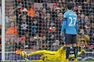 TRỰC TIẾP Arsenal - Stoke: Pháo thủ thăng hoa (KT) - 8