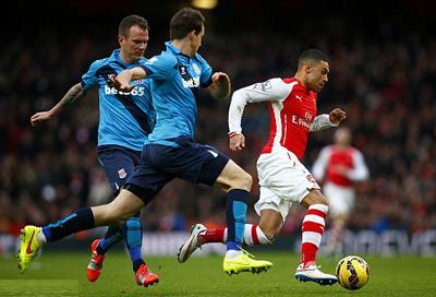 TRỰC TIẾP Arsenal - Stoke: Pháo thủ thăng hoa (KT) - 9