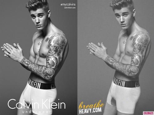 """Justin Bieber khẳng định cơ bắp """"xịn"""" quảng cáo cho CK - 1"""