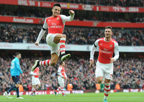 Arsenal & hội chứng phụ thuộc Sanchez - 1