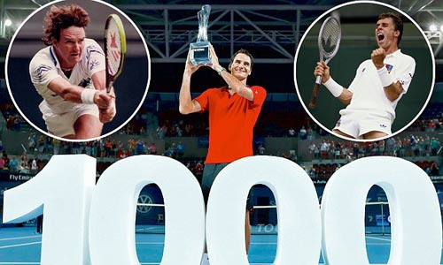 1000 trận thắng của Federer: Mốc son chói lọi - 1