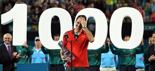 1000 trận thắng của Federer: Mốc son chói lọi - 2