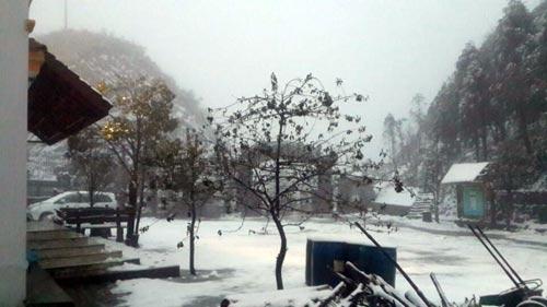 Tuyết ở Sa Pa chưa tan hết - 1