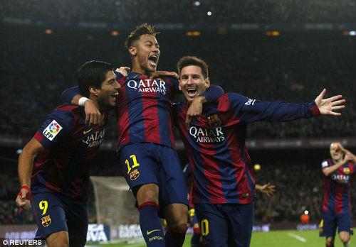 """Cầu thủ ấn tượng nhất tuần 5-11/1: Messi """"đấu"""" Chí Công - 1"""