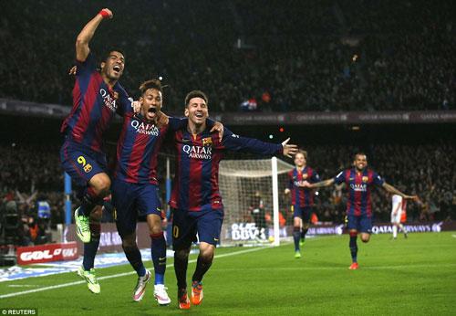 """Barca đại thắng: """"Nã đạn"""" vào khủng hoảng - 1"""