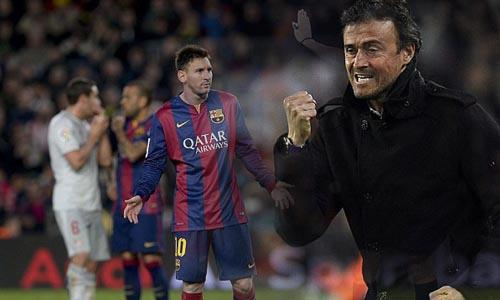 Messi dẹp tan tin đồn mâu thuẫn với HLV Enrique - 1