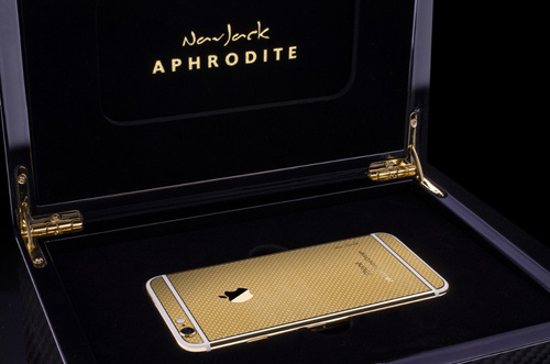 iPhone 6 và 6 Plus mạ vàng 24K ra mắt - 3