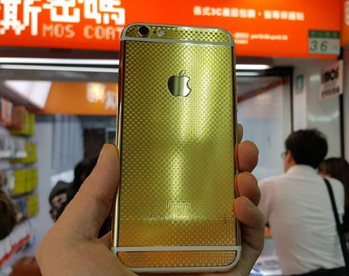 iPhone 6 và 6 Plus mạ vàng 24K ra mắt - 2
