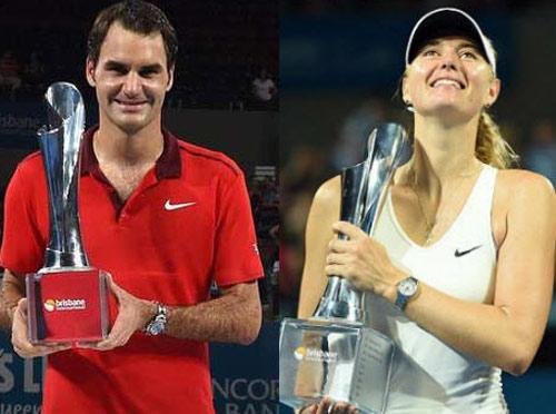 BXH Tennis 12/1: Điểm nhấn Federer & Sharapova - 1