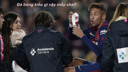 Ảnh chế: CR7 - Bale hục hặc, Messi - Enrique làm lành - 3