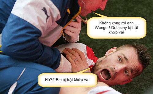 Ảnh chế: CR7 - Bale hục hặc, Messi - Enrique làm lành - 9