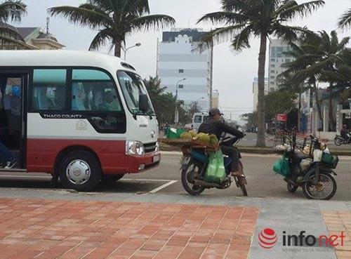 Đà Nẵng: Du khách tàu biển quốc tế lại bị quấy nhiễu - 1