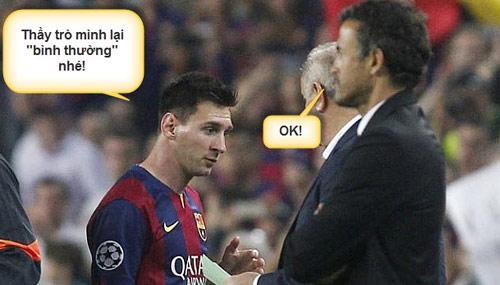 Ảnh chế: CR7 - Bale hục hặc, Messi - Enrique làm lành - 12