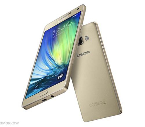 Samsung Galaxy A7 khung kim loại trình làng - 1