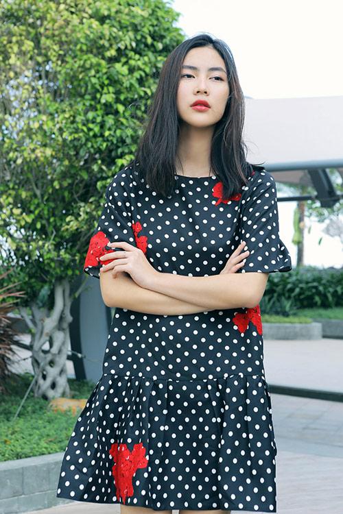 Hot girl Helly Tống xinh đẹp với thời trang du xuân - 2