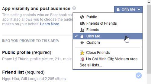 Cách ngăn ứng dụng Facebook đăng thông tin nhảm lên timeline - 4
