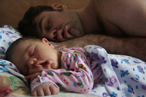 """Những khoảnh khắc """"cha nào con nấy"""" siêu đáng yêu - 8"""
