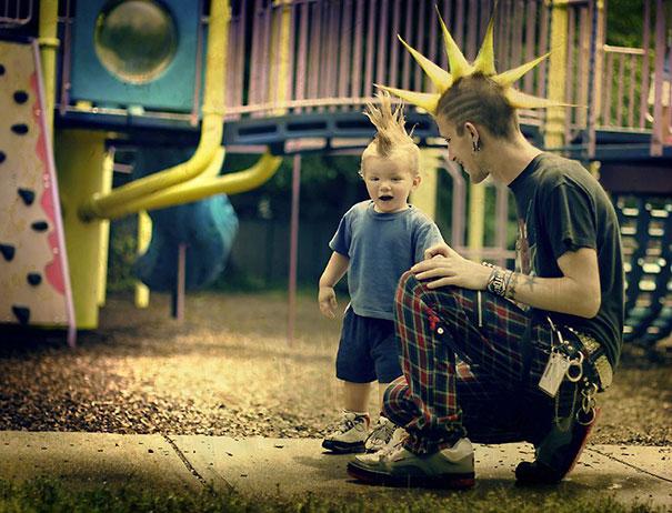 """Những khoảnh khắc """"cha nào con nấy"""" siêu đáng yêu - 9"""