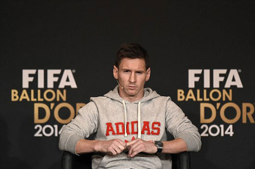 Ronaldo giành QBV FIFA 2014 - 9