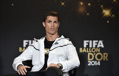 Ronaldo giành QBV FIFA 2014 - 10