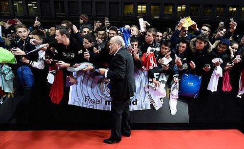 Ronaldo giành QBV FIFA 2014 - 5