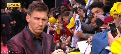 Ronaldo giành QBV FIFA 2014 - 3