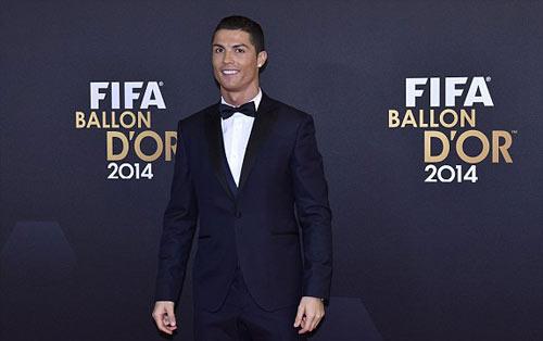 Ronaldo giành QBV FIFA 2014 - 4