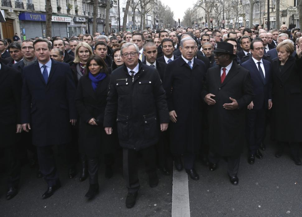 Mỹ nhận lỗi vì không tuần hành chống khủng bố ở Paris - 2