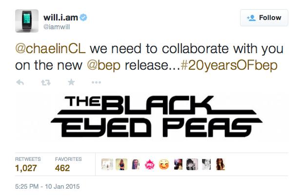 Black Eyed Peas mời CL (2NE1) hợp tác trong album mới - 2