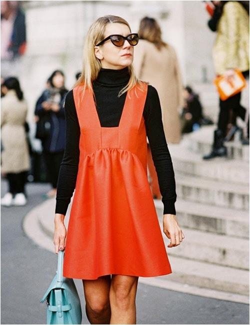 11 cách mặc đẹp với áo len cổ lọ - 2