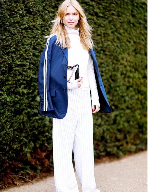 11 cách mặc đẹp với áo len cổ lọ - 4
