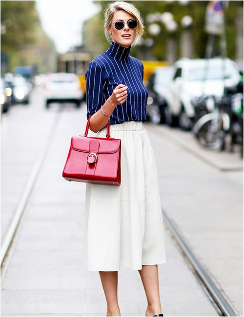 11 cách mặc đẹp với áo len cổ lọ - 6