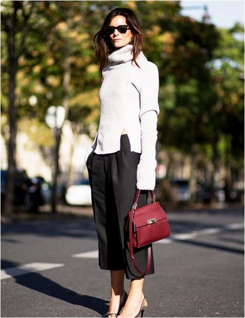 11 cách mặc đẹp với áo len cổ lọ - 5