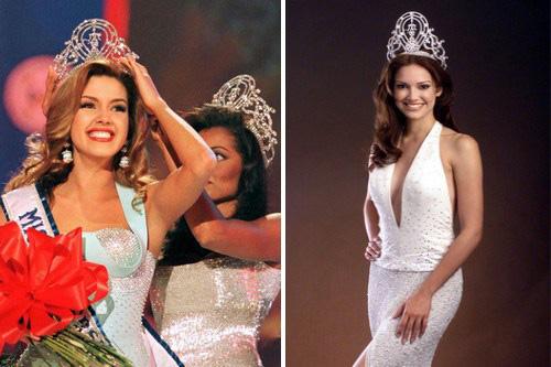 Vẫn giành vương miện Hoa hậu Hoàn vũ dù chỉ cao 1m62 - 8