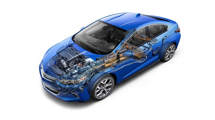 Chevrolet tung phiên bản Chevy Volt mới tại Detroit 2015 - 2