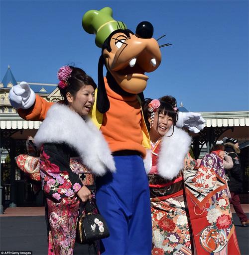 Hàng nghìn thiếu nữ Nhật xinh đẹp trong lễ Trưởng thành - 5