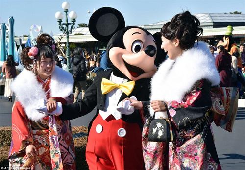 Hàng nghìn thiếu nữ Nhật xinh đẹp trong lễ Trưởng thành - 8