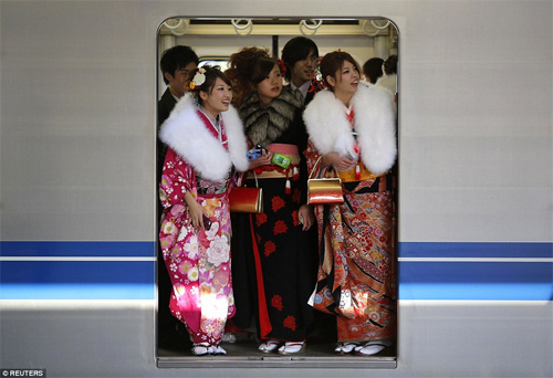 Hàng nghìn thiếu nữ Nhật xinh đẹp trong lễ Trưởng thành - 13