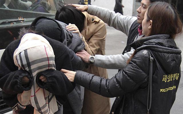 """Macau phá đường dây mại dâm """"khủng"""" có phụ nữ Việt Nam - 1"""